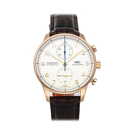 IWC Portugieser Chronograph Automatic // IW3716-11 // Pre-Owned