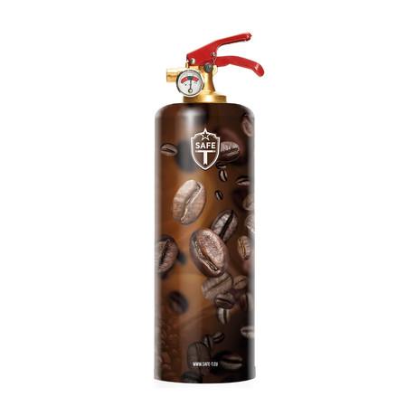 Safe-T Designer Fire Extinguisher // Coffee