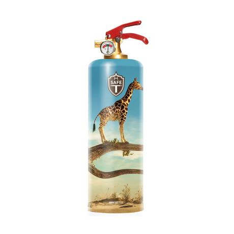 Safe-T Designer Fire Extinguisher // Giraffe SKY