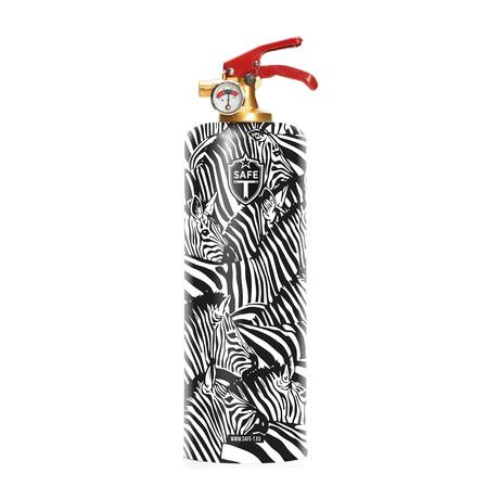 Safe-T Designer Fire Extinguisher // Zebra