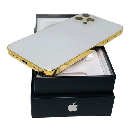 24K iPhone 12 Pro // Unlocked // White (64 GB)