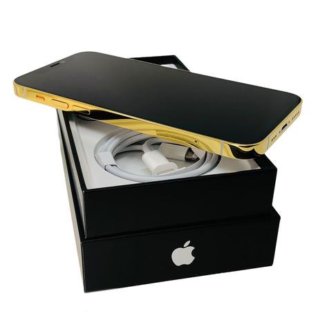 24K iPhone 12 Pro Max // Unlocked // White (64 GB)