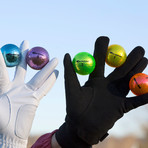 Metallic M5 Golf Balls // 6 Ball Pack (Pink)