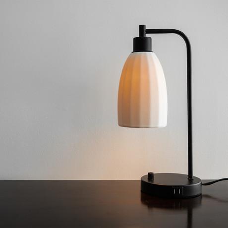The Dolan Lamp // Steel