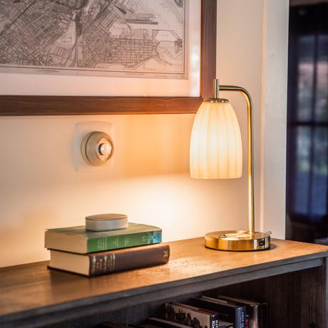 The Dolan Lamp // Brass