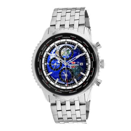 Seapro Meridian World Timer GMT Quartz // SP7320