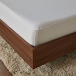 RECOVERS 5 Sided Mattress Protector // Bright White (Full)