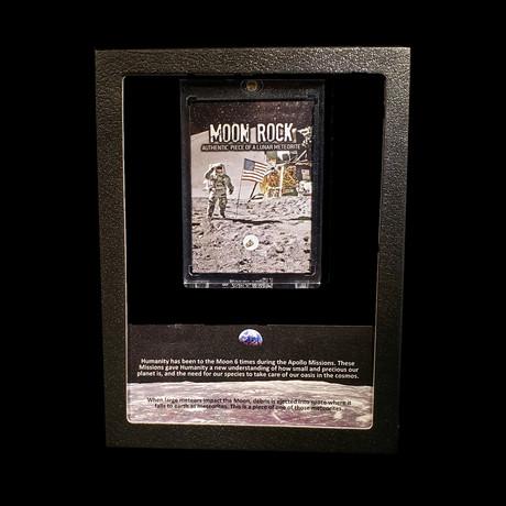 Moon Rock + Collectors Box