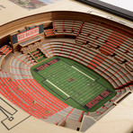 Texas Tech Red Raiders Wall Art (25 Layer)