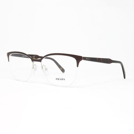Men's PR53VV Optical Frames // Brown