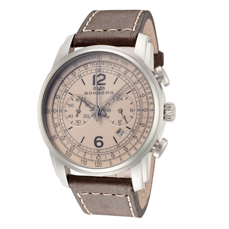 Bomberg Semper Chronograph Quartz // SP42CHSS-BE0-1-LBR