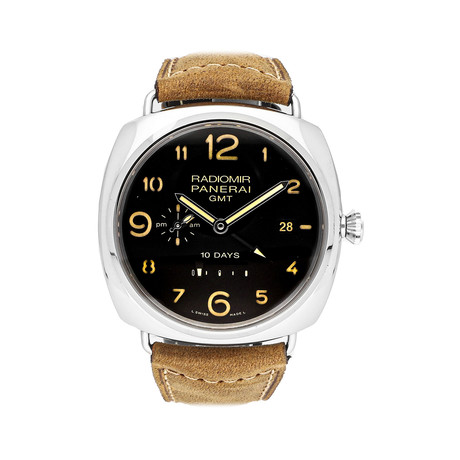 Panerai Radiomir 10-Days GMT Automatic // PAM00472 // Pre-Owned