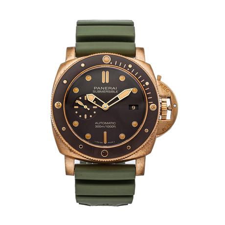 Panerai Submersible Bronzo Automatic // PAM00968 // 4298675 // Pre-Owned