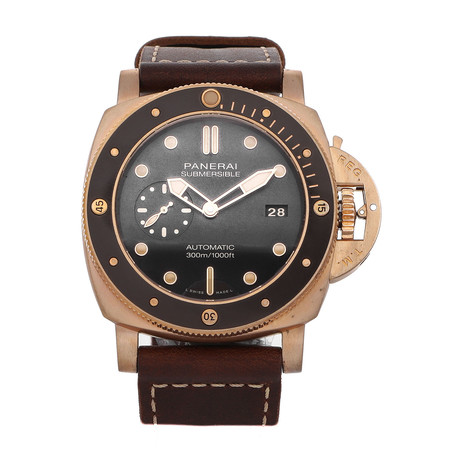 Panerai Submersible Bronzo Automatic // PAM00968 // 4296026 // Pre-Owned