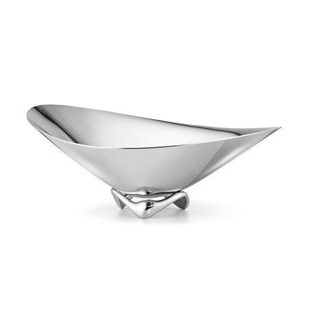 HK Wave Bowl // Stainless Steel