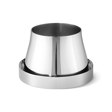 Terra Pot // Stainless Steel // Medium