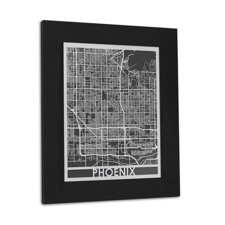 Stainless Steel Map // Phoenix