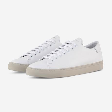 Mono Sneakers // White Nappa (Euro: 40)