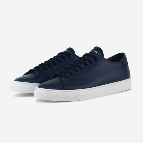 Mono Sneakers // Navy Blue (Euro: 40)