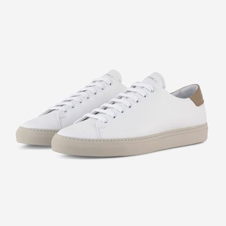Mono Sneakers // White + Beige (Euro: 40)