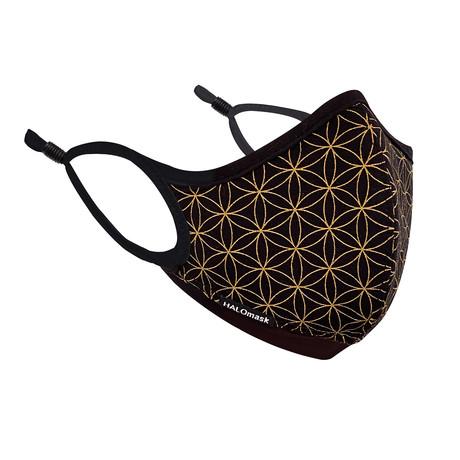 HALO Nanofilter™ Technology // Black Unity Edition Mask + 3 Nanofilters (Small)