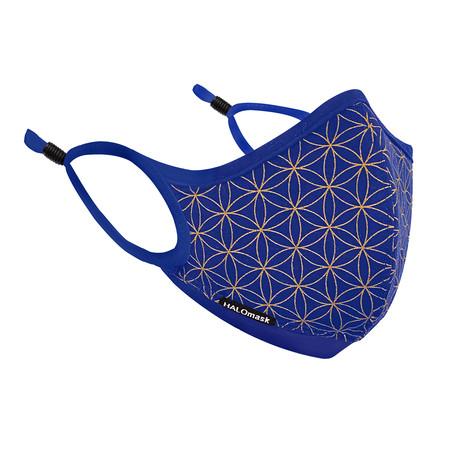 HALO Nanofilter™ Technology // Dark Blue Unity Edition Mask + 3 Nanofilters (Small)