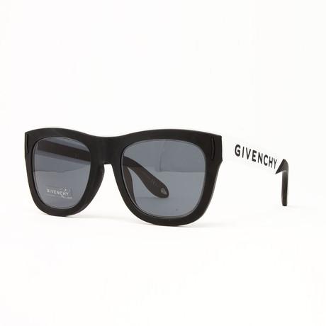 Unisex GV7016 Sunglasses // Black + White