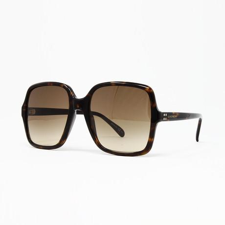 Women's GV7123 Sunglasses // Dark Havana