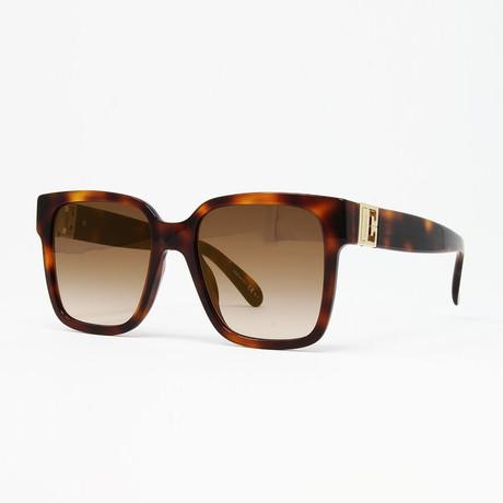 Women's GV7141 Sunglasses // Light Havana