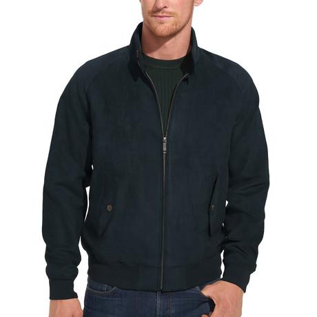 Microsuede Field Jacket // Indigo (S)
