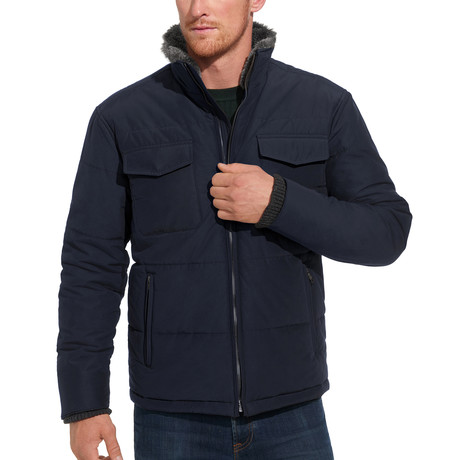 Techno Cotton Puffer // Navy (S)