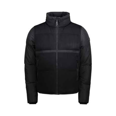Wool Down Puffer // Black (S)