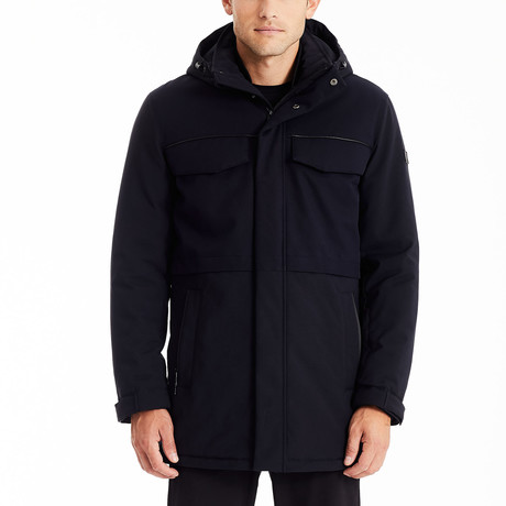 Fully Loaded Parka // Dark Navy (S)