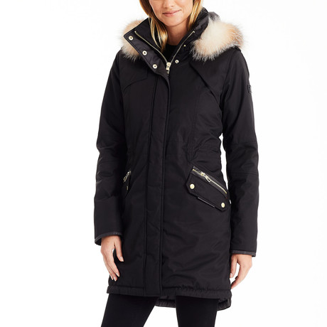 Women's Luxe Parka // Black (S)