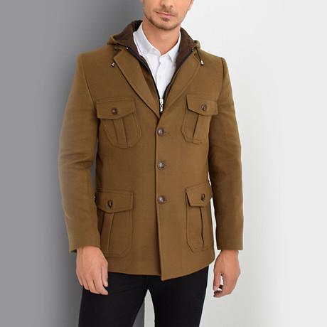Vienna Coat // Camel (Small)