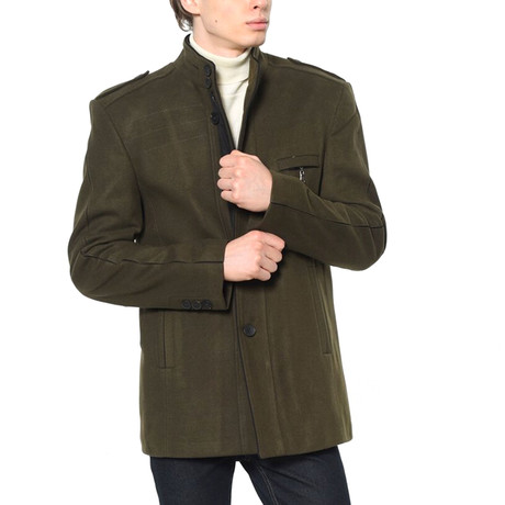 Montana Coat // Khaki Green (Small)