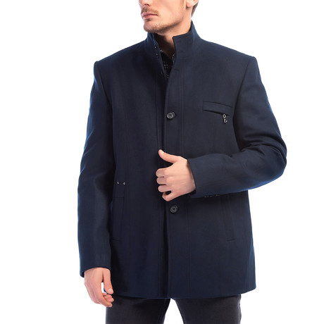 Redwood Coat // Dark Blue (Small)