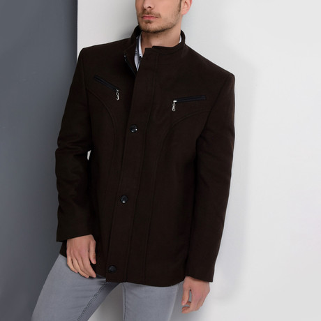 Pacific Coat // Brown (Small)