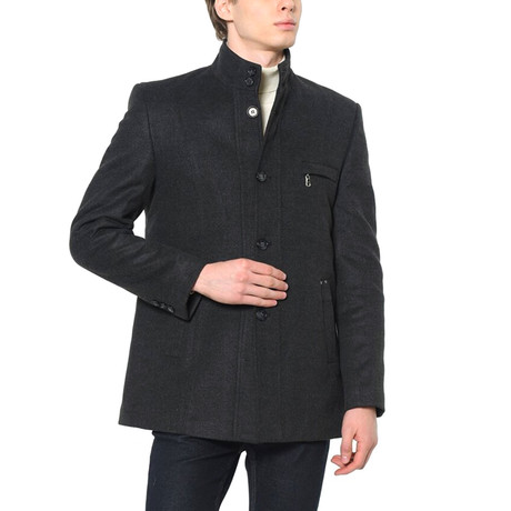 Redwood Coat // Anthracite (Small)