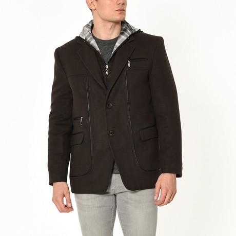 London Coat // Brown (Small)