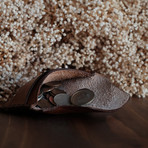 The Rogers // Mid Sized Pouch (Café)