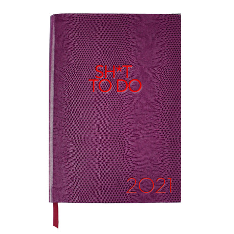 2021 Diary // Sh*t To Do (A6 Book)