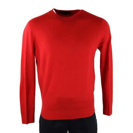 Canada Goose // Men's Fraser Crew Neck Sweater // Red (S)