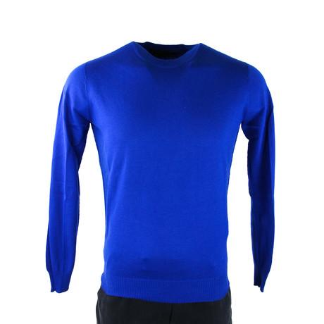 Canada Goose // Men's Fraser Crew Neck Sweater V1 // Blue (S)