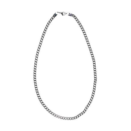 Dell Arte // Franco Weave Chain // Silver