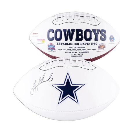 Troy Aikman // Dallas Cowboys // Autographed Football