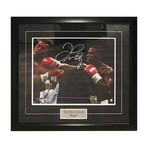 Floyd Mayweather // Framed Autographed Photo Display