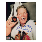 Bobby Hull // Chicago Blackhawks // Autographed 50th Goal Photo
