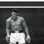 Muhammad Ali Vs Sonny Liston // First Round KO // Framed Facsimile Autographed Canvas