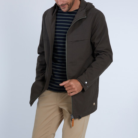Bloussont Trench Coat // Brown (S)